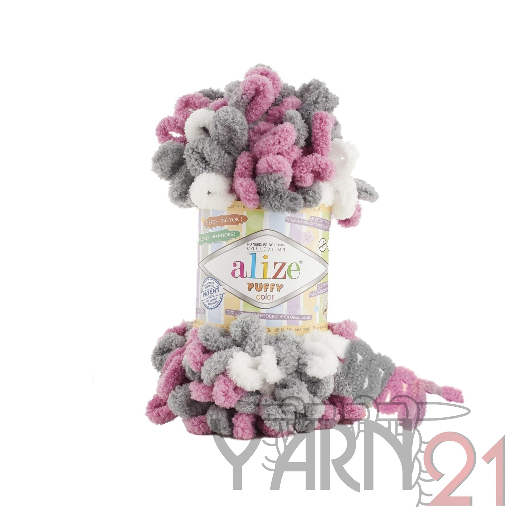 Puffy color №6070
