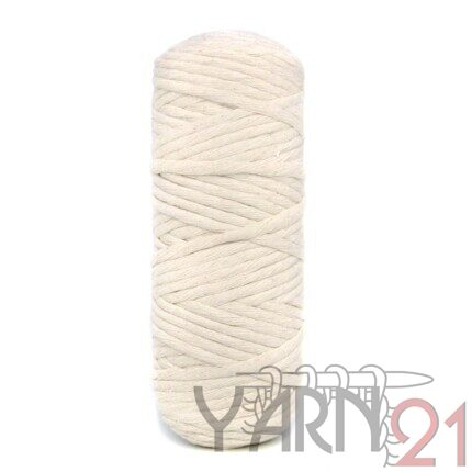 TWISTED MACRAME 4mm ECRU