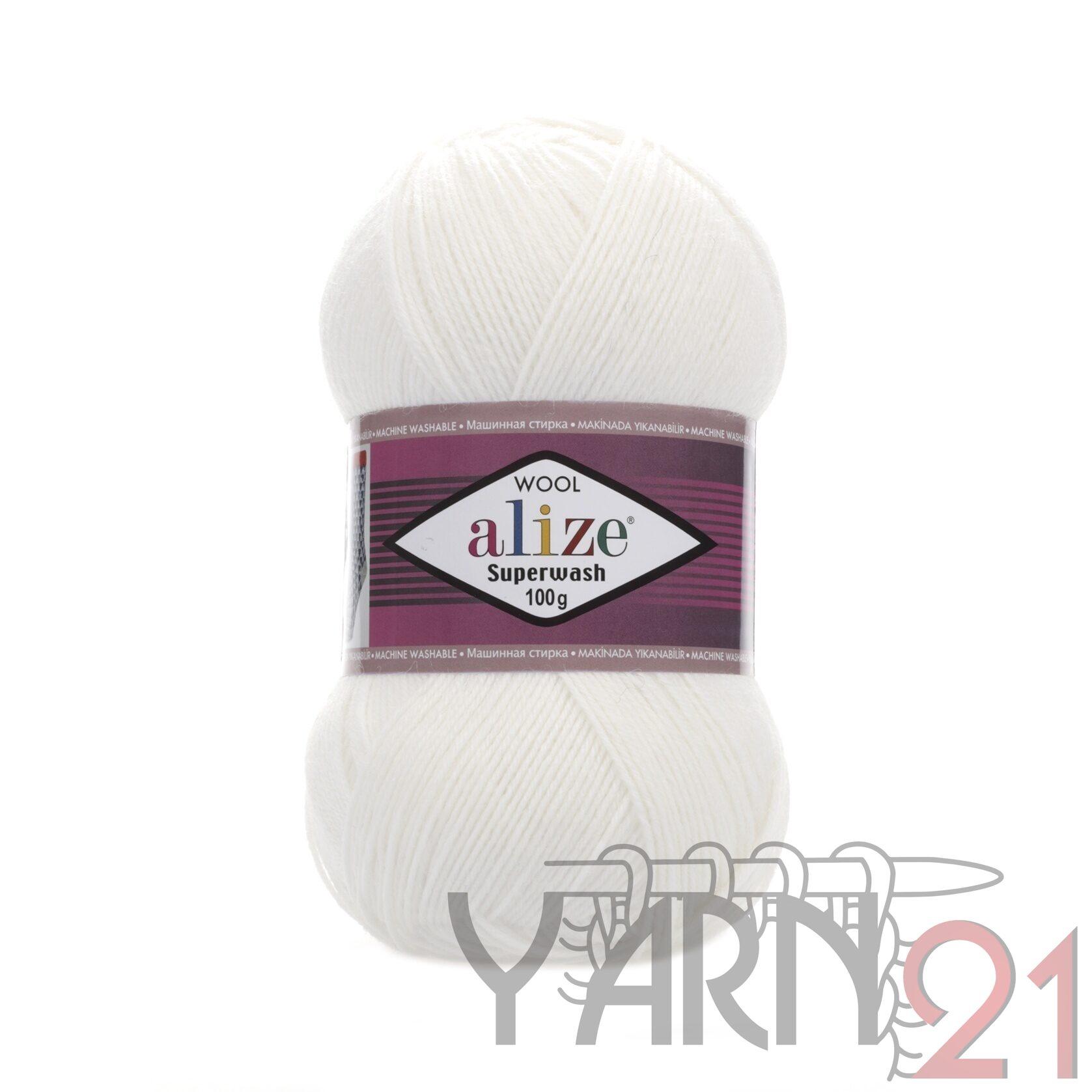 SUPERWASH 100 №55 — цвет  — интернет-магазин Yarn21