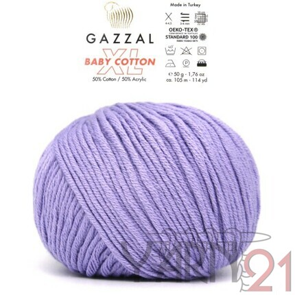 Baby cotton XL №3420