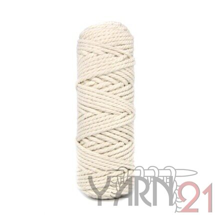 Macrame ROPE 3mm ECRU