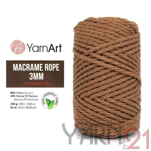 Macrame ROPE 3mm №788